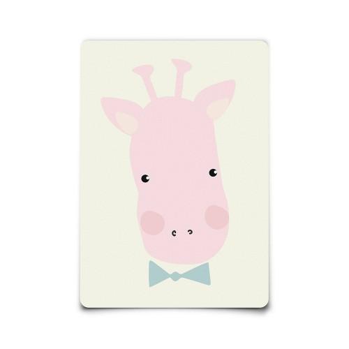 Carte postale Miss Giraffe