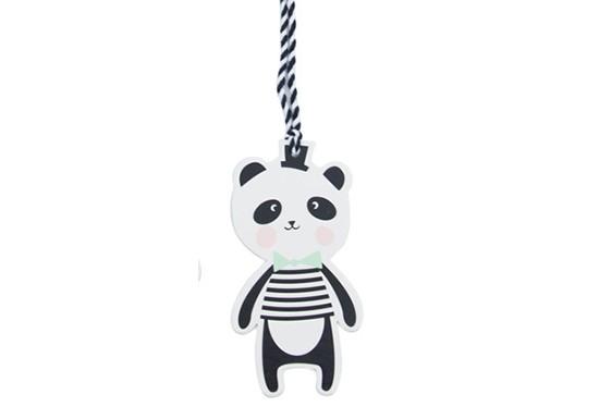 Étiquette Panda