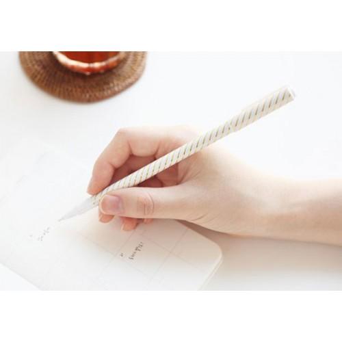 stylo bille pois or la boutique de louise. Black Bedroom Furniture Sets. Home Design Ideas