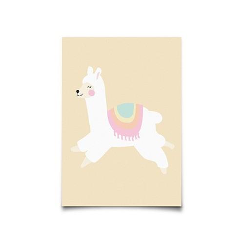 Carte Postale Alpaca