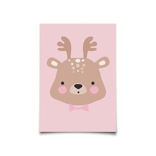 Carte Postale Mr Deer