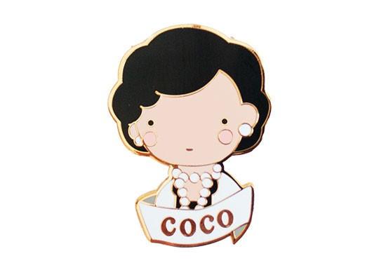 Broche Coco