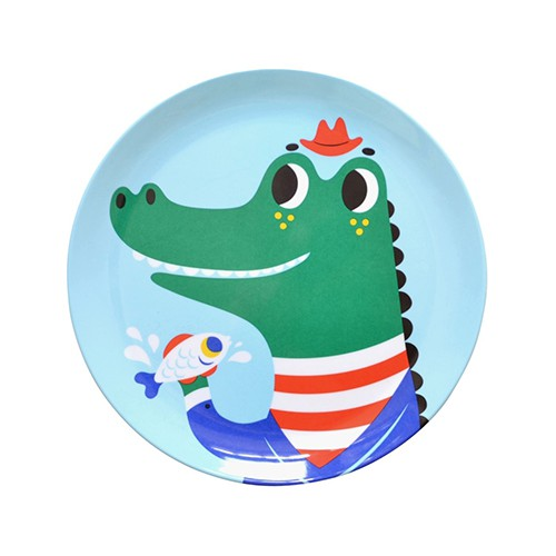 Assiette Mr Crocodile