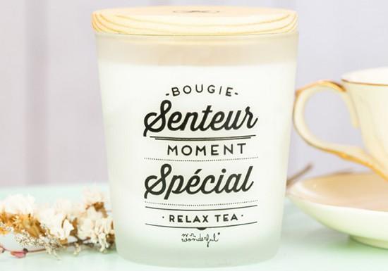 Bougie senteur - relax tea