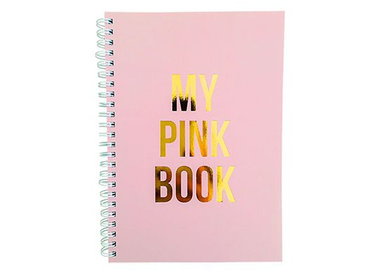 Cahier My pink book