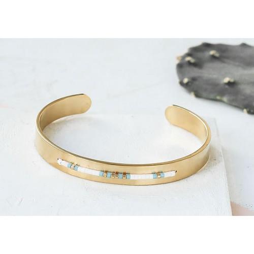 Bracelet Coachella blanc
