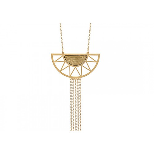 Collier Summer - Bois naturel