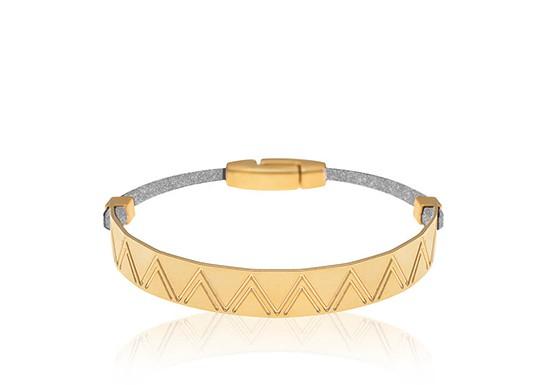 Bracelet Sundance gris irisé