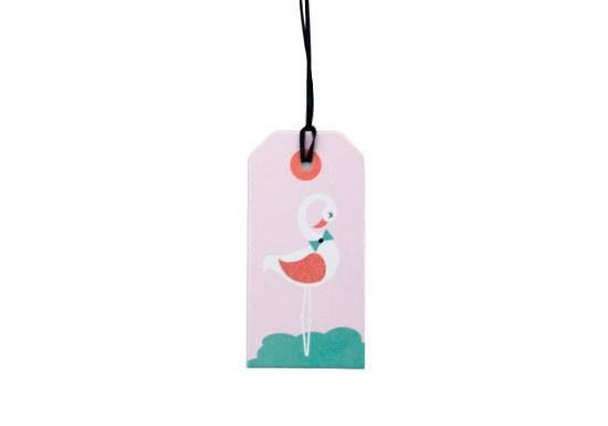 Étiquette Flamingo