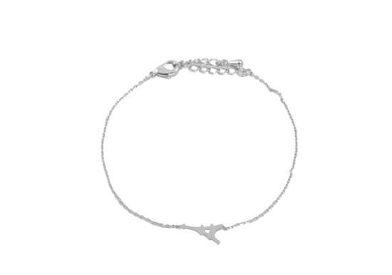 Bracelet Mini Tour Eiffel argenté