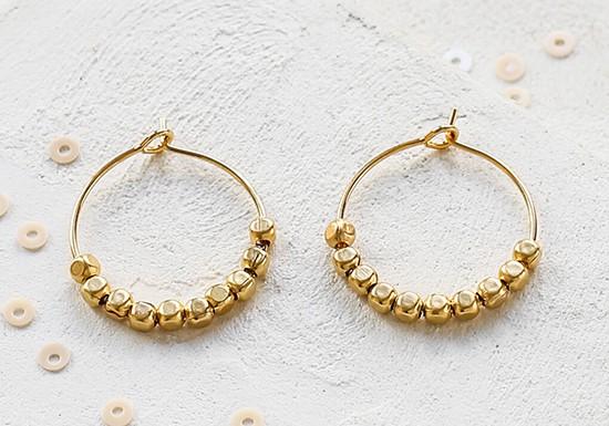 Boucles d'oreilles Boucles d'oreilles Gold Rush