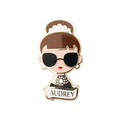 Broche Audrey