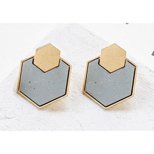 Boucles d'oreilles Geometry