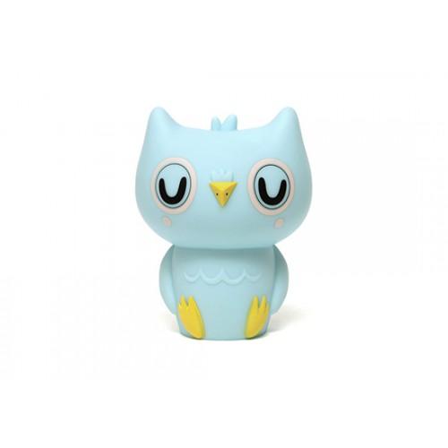 Veilleuse Hibou bleu