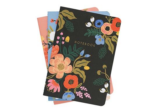 Set de 3 cahiers Lively Floral