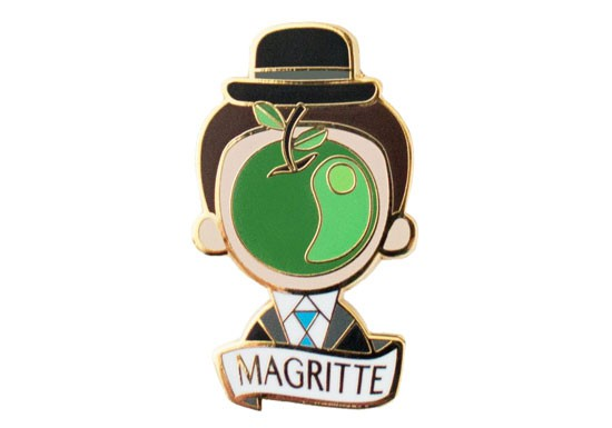 Broche Magritte