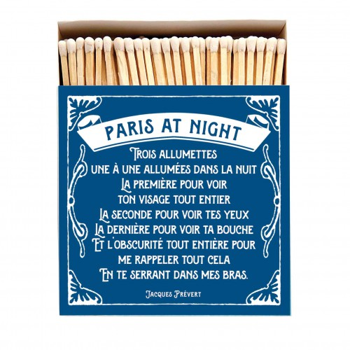 Grande boite d'allumettes - Paris at night