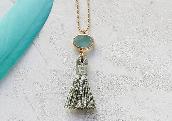 Collier Sabina turquoise
