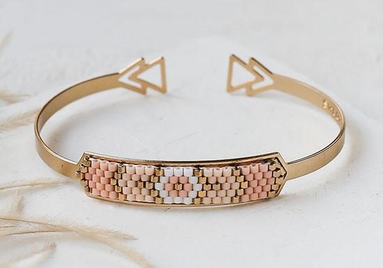 Bracelet Indie Cuff rose
