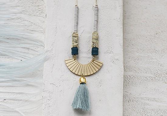 Collier Boheme long bleu