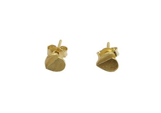 Boucles d'oreilles Coeur doré