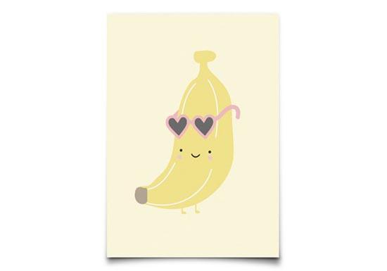Carte Postale Aloha Banana