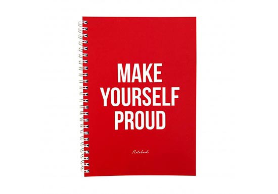 Cahier Make Yourself Proud