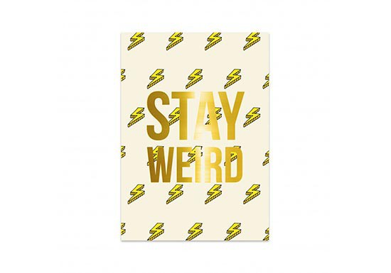 Carte Stay Weird