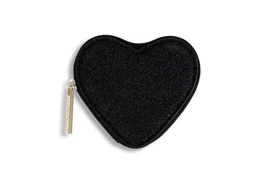 Porte-monnaie Cœur noir