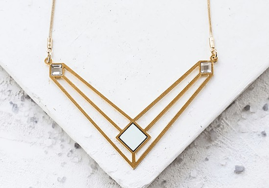 Collier Ice long