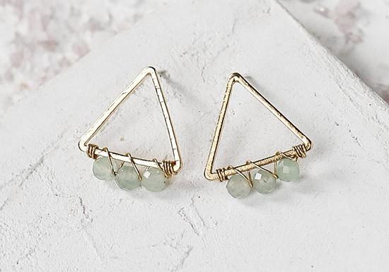 Boucles d'oreilles Snow triangle