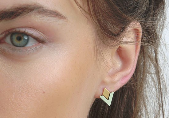 Boucles d'oreilles Arya post