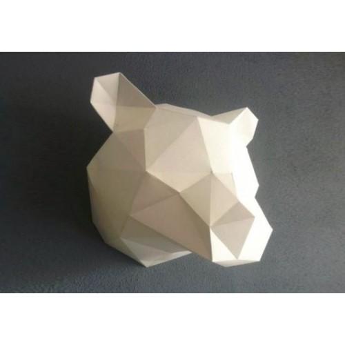 Trophée ours blanc