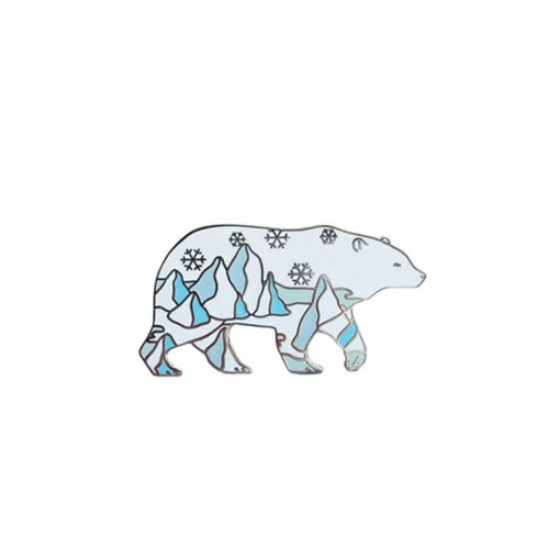 Pin's Polar bear