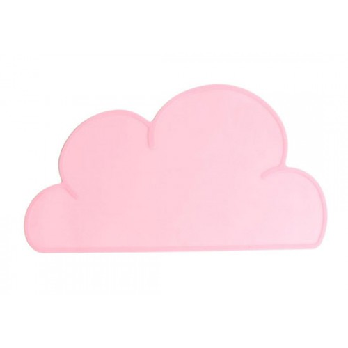 Set de table nuage rose