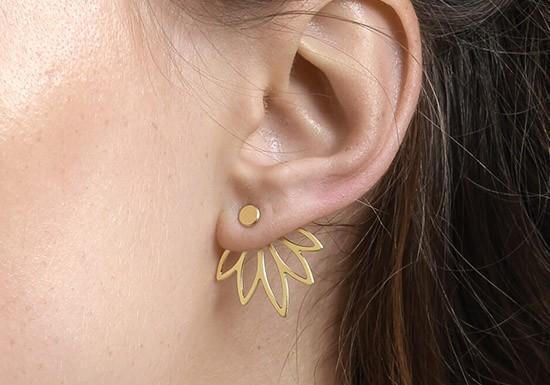 Boucles d'oreilles Sansa jacket