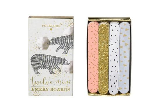 Set de mini limes à ongles - Bear