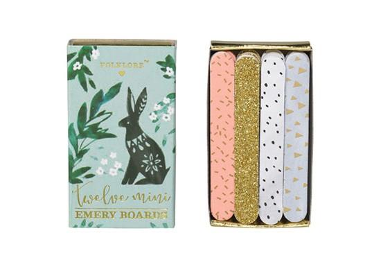 Set de mini limes à ongles - Rabbit