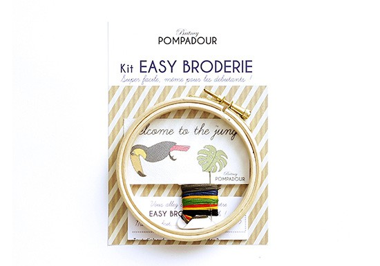 Welcome to the jungle Toucan - Kit Easy Broderie