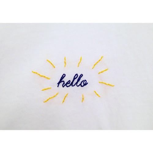 Hello - Kit Easy Broderie