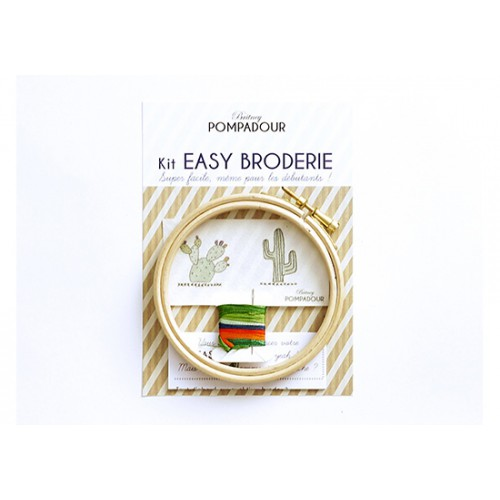 Cactus - Kit Easy Broderie