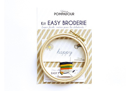 Happy - Kit Easy Broderie