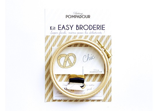 Chic Bretzel - Kit Easy Broderie