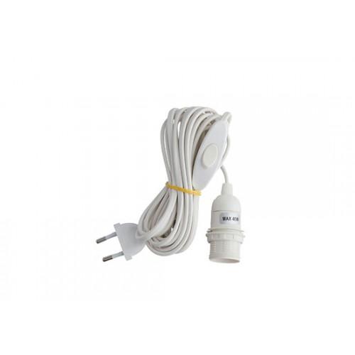 Cordon électrique pour ampoule