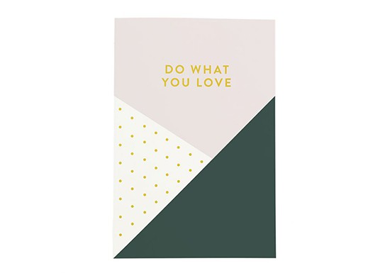 Carnet Do what you love