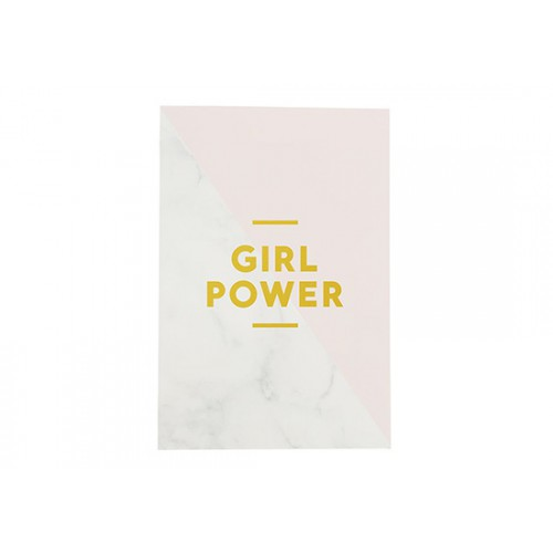 Carnet Girl Power