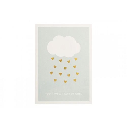 Carte nuage Cœur