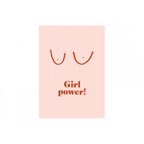 Carte Girl Power