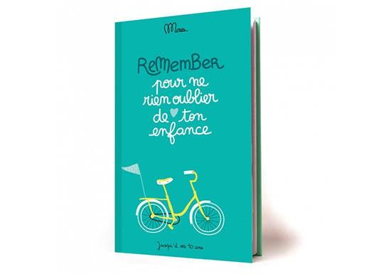 Livre Remember - Pour ne rien oublier de ton enfance