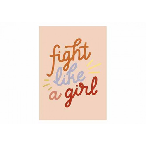 Carte Fight Lika a Girl